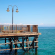 Old jetty in the sea — Stock Photo #57302091