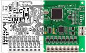 Circuit imprimé et sa conception de l'ordinateur — Photo