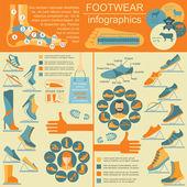 Skodon infographics element. Lätt redigerad — Stockvektor