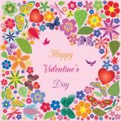 Valentine's day invitations design — Stockvektor