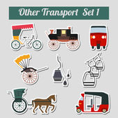Other transport — Stock Vector