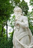 Antic statue in the Summer Gardens park in Saint-Petersburg — Stock Photo