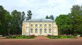 The Kamennoe Zalo (Stone Hall) Pavilion in Oranienbaum — Stock Photo