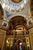 Interior of St. Isaac's Cathedral, St. Petersburg. Russia — Stock Photo