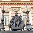 Monument to the Russian emperor Paul the First by the Mikhailovsky Palace, Saint-petersburg, Russia — Stock Photo #69165567