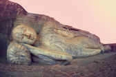 Sleeping buddha. Polonnaruwa, Sri-Lanka — Stock Photo
