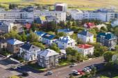 アイスランドの首都レイキャビク — ストック写真