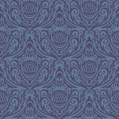Decoretive damask pattern background — Stock Vector
