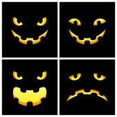 Halloween smile — Stock Vector