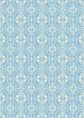 Damask beautiful background, royal, blue luxury floral ornamentation, beautiful fashioned seamless pattern — Vecteur