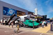 International Exhibition of Construction Equipment and Technolog — Stock Photo