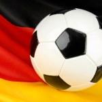 Germany in anticipation on football — Stock Photo #53022733