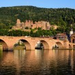 Historic castle in Heidelberg, Germany — Stock Photo #53023169