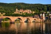 Historic castle in Heidelberg, Germany — Stock Photo