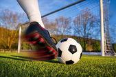 足球踢 — Stock fotografie