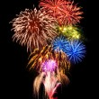 Magnificent fireworks display — Stock Photo #60203425