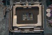 Board device digital electronic equipment microchip microprocessor part platter technology transistor — Stock Photo