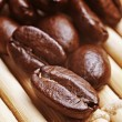 Coffe beans background — Stock Photo #55889841