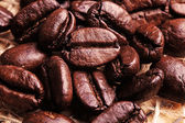 Lot of coffee beans — Stock Photo