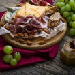 Wine appetizers set — Stock Photo #65987189