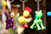 Toy in keychain  — Stock Photo