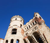Destroyed Medieval Russia Manor — Stock Photo