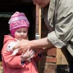 Little girl — Stock Photo #57974743