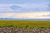 Oresund bridge — Stock Photo