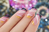 Elegant nail design. — Stock Photo