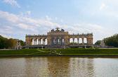 Gloriette in Schonbrunn Palace Garden — Stock Photo
