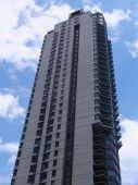 небоскреб в нью-йорке — Стоковое фото