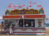 Seaside Heights at Jersey Shore in New Jersey — Stockfoto