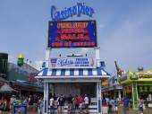 Casino Pier at Seaside Height at Jersey Shore in New Jersey — Stockfoto