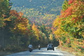 Fall Foliage at the White Mountain National Forest in New Hampshire — Stock Photo