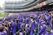 New York University (NYU) 181st Commencement Ceremony — Stock Photo