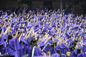 New York University (NYU) 181st Commencement Ceremony — Stock Photo