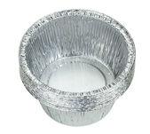 Aluminium foil trays — Stock Photo