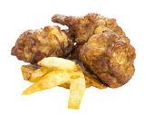 Fry chicken — Stock Photo