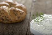 Cream cheese — Stock Photo