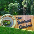 The sign of the butchart gardens — Stock Photo #57850483