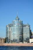""": View on the business center """"Petrovsky Fort"""" — Stock Photo"""