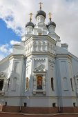 Cathedral of the Vladimir icon — Stock Photo