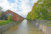 Kronstadt canal — Stock Photo