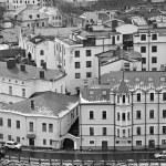Panorama of old city Vyborg — Stock Photo #68418151