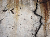 Wall with fissure — Stock Photo