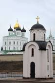 Olga's chapel in Pskov — Stock Photo