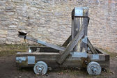 Wooden catapult — Stock Photo