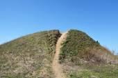 Burial mound — Stock Photo