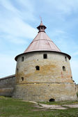 Golovina tower of the fortress at Shlisselburg city — Stockfoto