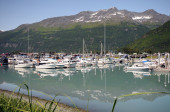 Port Valdez Clear Day — Stock Photo